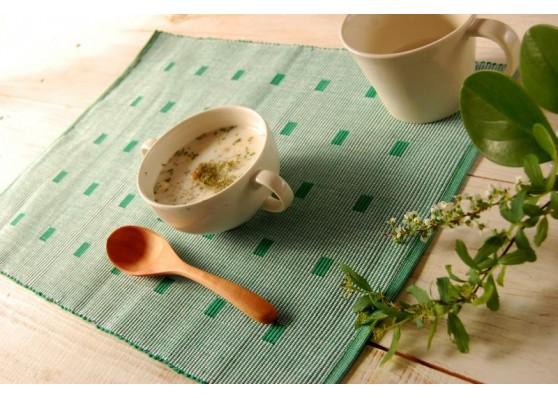 手織りコットンランチョンマット【Sat.Ranjee】の感想
