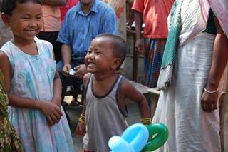 ラグマットの村の子供