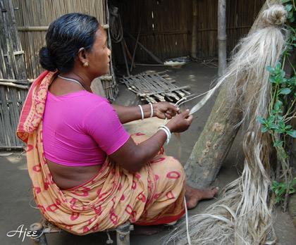 バングラデシュ・ルードプールの職人