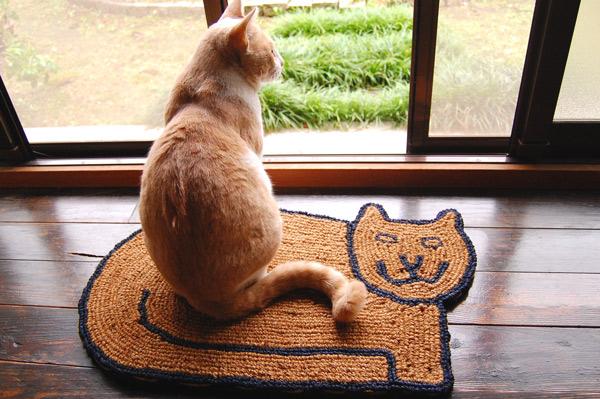 玄関マット(猫ちゃん)